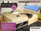 AKCE - akční set - rozkládací jednolůžko a matrace - sleva nábytku