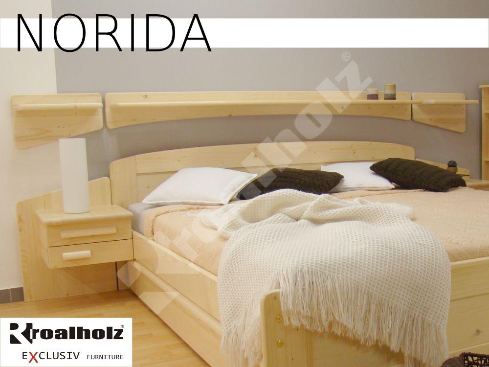 police z masivu NORIDA středová (středová police masiv NORIDA nad manželské postele ROALHOLZ)