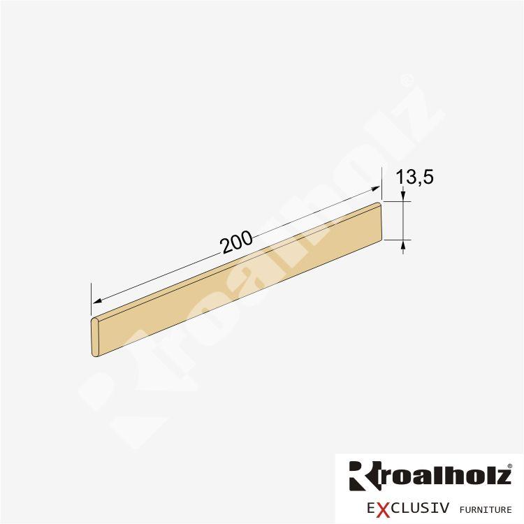 dřevěná ZÁBRANA DUO Z masiv závěsná na zeď (zábrana z masivu, ochranná deska k zavěšení na zeď)