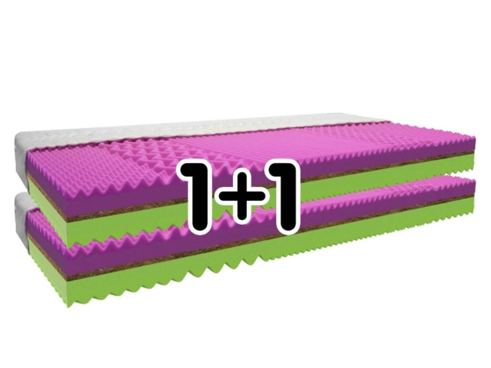 Matrac 1+1 ZADARMO COCOFLEX