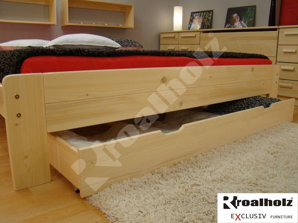 úložný prostor z čela postele masiv REMI ČELNÍ (dřevěný úložný prostor z masivu REMI ČELNÍ)