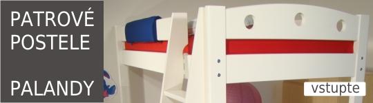 PATROVÉ POSTELE - PALANDY - fotogalerie - inspirace. Inspirujte se při výběru patrové postele, palandy z masivu. Palandy od českého výrobce ROALHOLZ.