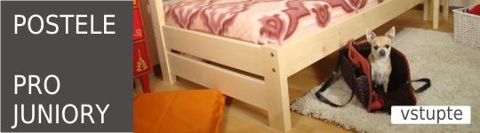 Fotogalerie - inspirace - postele z masivu pro juniory.